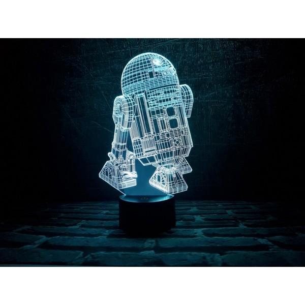 3D світильник R2-D2