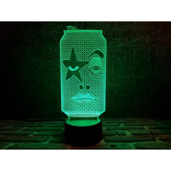 3D світильник Рок Бір