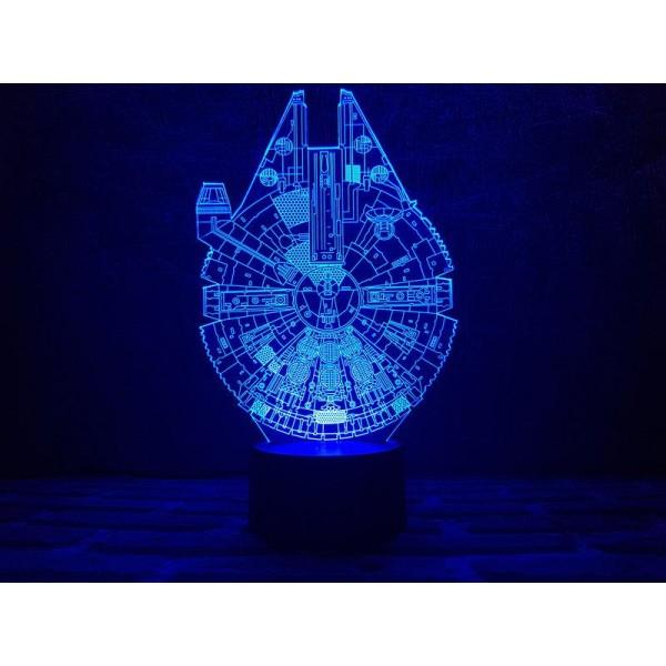 3D світильник Сокіл тисячоліття