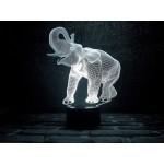 3D світильник Слон