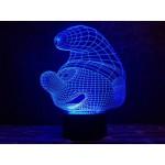 3D світильник Смурфик