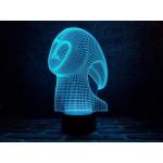3D світильник Спіріт