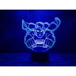 3D світильник Супермен