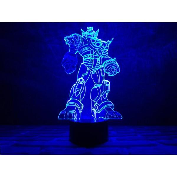 3D світильник Трансформер