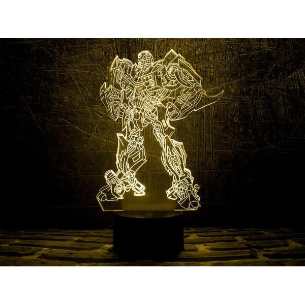 3D світильник Трансформер 2