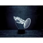 3D світильник Труба