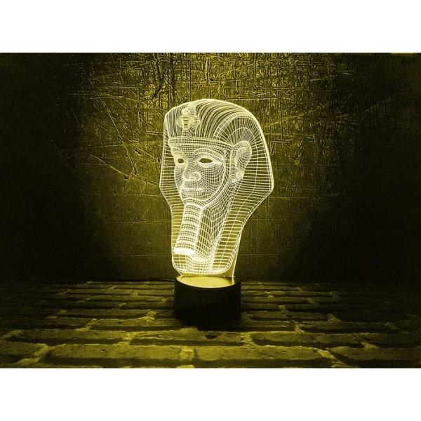 3D світильник Тутанхамон