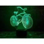 3D світильник Велосипед