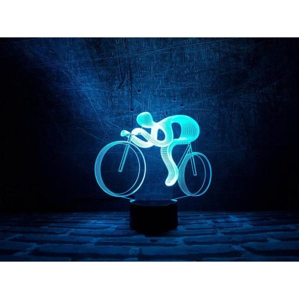 3D світильник Велосипед 2