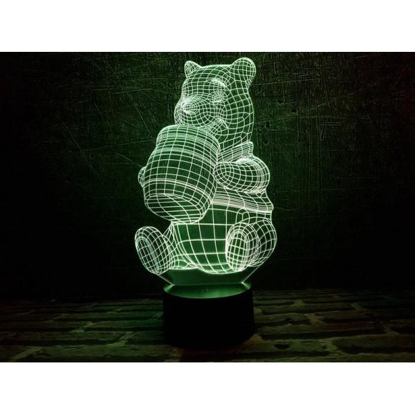 3D світильник Вінні-пух
