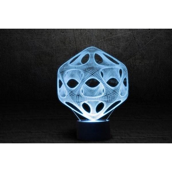 3D світильник Вірус