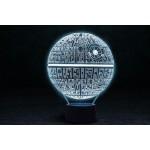 3D світильник Зірка смерті