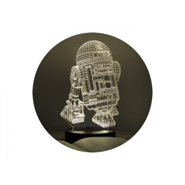 3D нічник R2D2