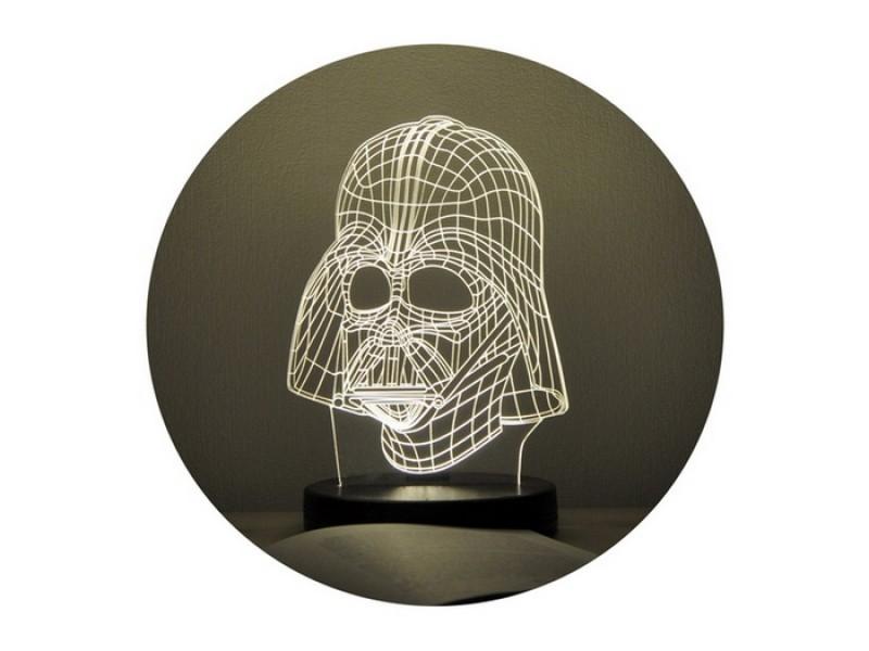 3D нічник «Дарт Вейдер»
