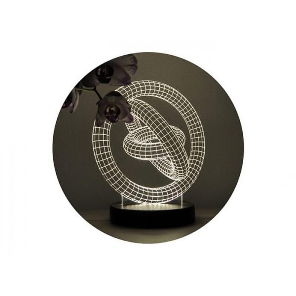 3D нічник «Кільця»