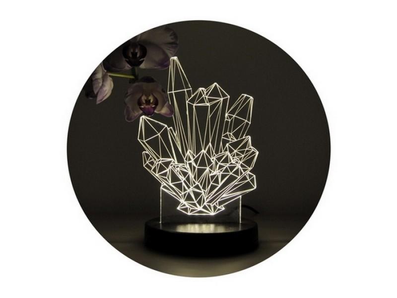 3D нічник «Кристали»
