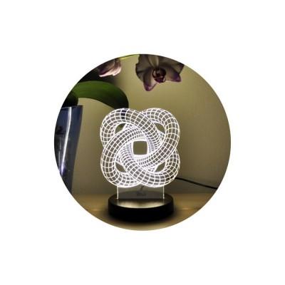 3D нічник «Зігзаг-4»