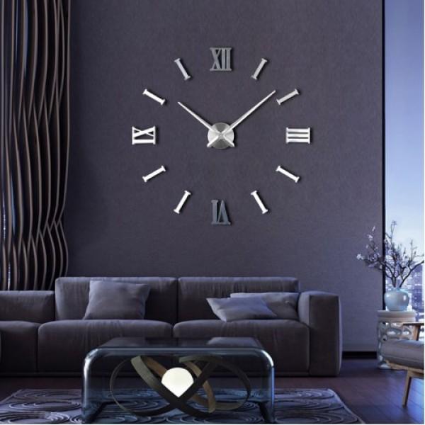 3D годинник римські-полоси 2018