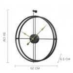 Настінний годинник Amalfi Метал new