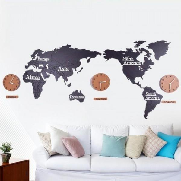 Годинник World Map