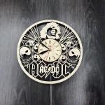 Концептуальний настінний годинник AC/DC