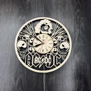 Концептуальные настенные часы AC/DC