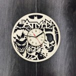 Бесшумные настенные часы Batman