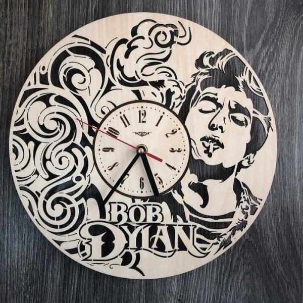 Оригінальний настінний годинник Боб Ділан