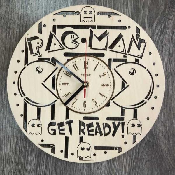 Оригінальний концептуальний настінний годинник Pac Man