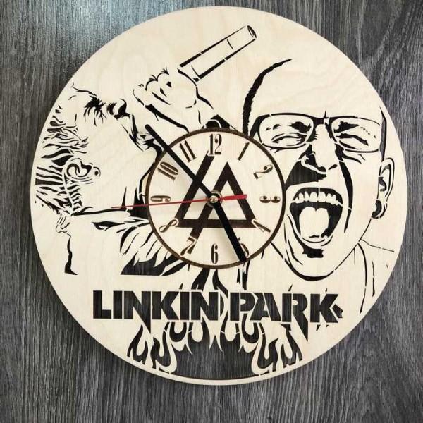Концептуальний настінний годинник в інтер'єр Linkin Park
