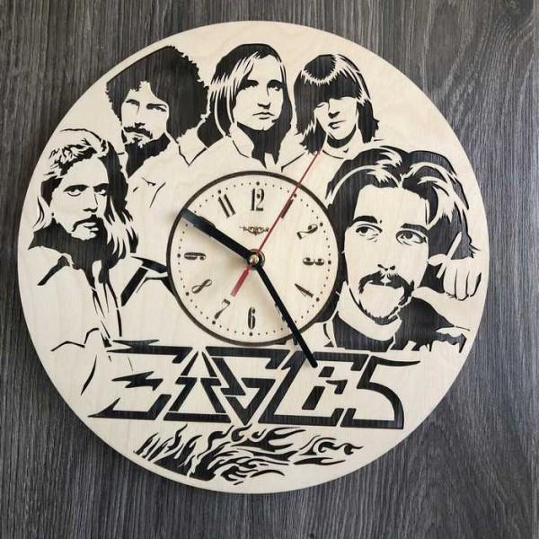 Концептуальний настінний годинник в інтер'єр Eagles
