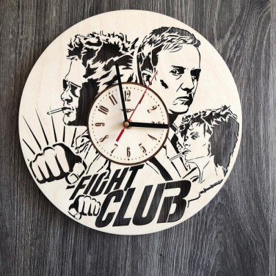 Інтер'єрний годинник на стіну Бійцівський клуб