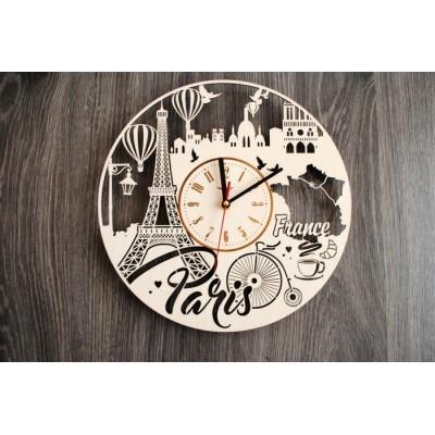 Інтер'єрний годинник на стіну Париж, Франція