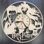 Настінний годинник інтер'єрний Гаррі Поттер в школі чарівництва