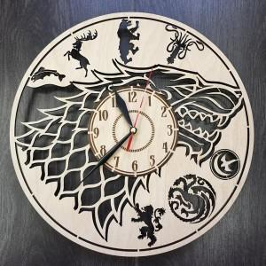 Классические настенные часы Игра Престолов