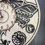 Класичний настінний годинник Гра Престолів