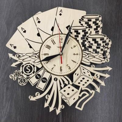 Дизайнерський настінний годинник Лас Вегас