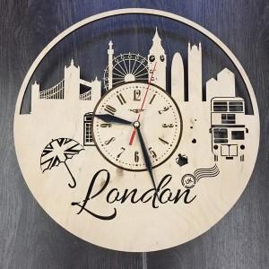 Арт часы настенные Лондон