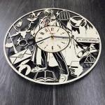 Handmade часы настенные Магия Гарри Поттера