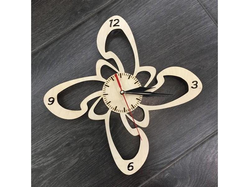 Годинник настінний дерев'яний Оригінальність