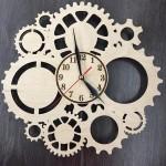 Настінний годинник Скелетон