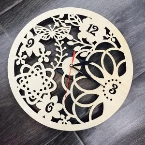 Настенные эко-часы Весенние мотивы