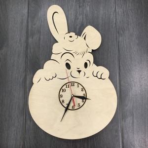 Настенные детские часы Забавная зверушка