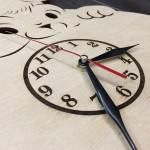 Настінний дитячий годинник Забавне звірятко