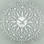 Настінний годинник Glozis Ajur