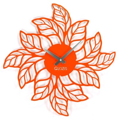 Настінний годинник Glozis Leaves (Листя)