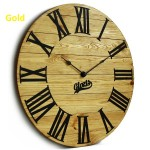 Дерев'яний Настінний Годинник Glozis Kansas (Канзас)