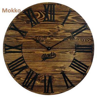 Дерев'яний Настінний Годинник Glozis Nevada (Невада)
