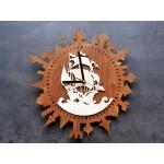 Дерев'яний годинник Корабель