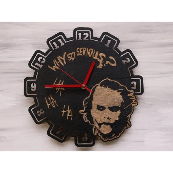 Настінний годинник Why so serious